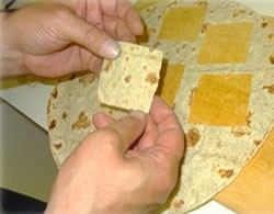 Flatbread testing sample preparation