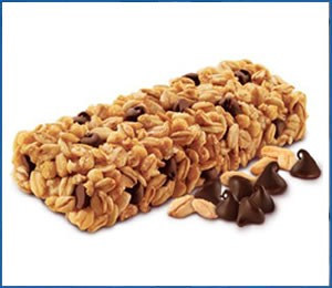 Crisp granola bar can be tested by bend and snap testing