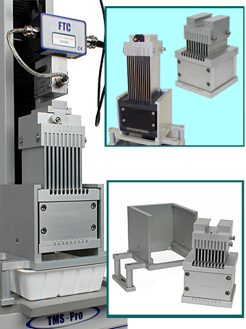 Bulk analysis loadcell accessories