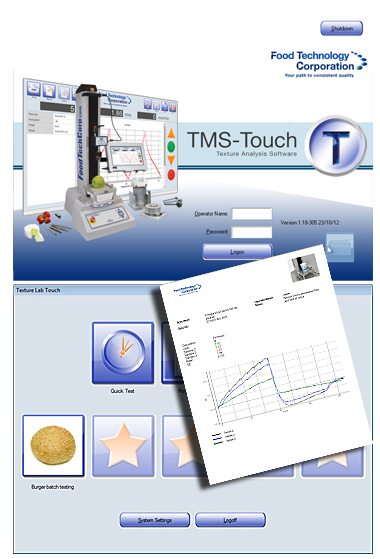 TL Touch software is easy to use with favourite test icons